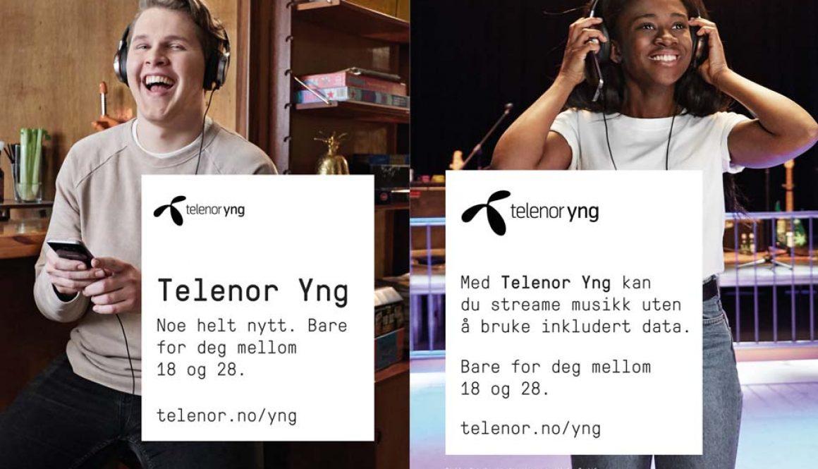 Presselansering for Telenor: Satser på nytt segment